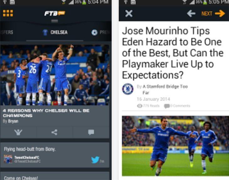 Chelsea FC news, live scores b