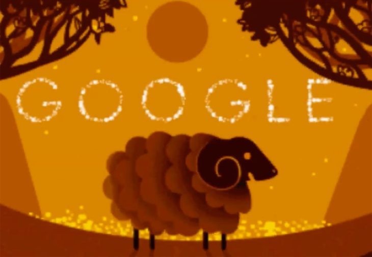 Chinese New Year Google Doodle celebration is joyful