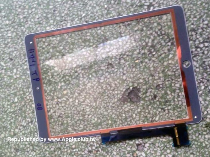 Claimed iPad Air 2 components c