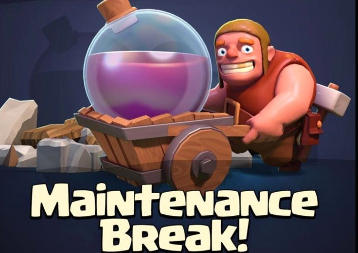Clash of Clans maintenance times b