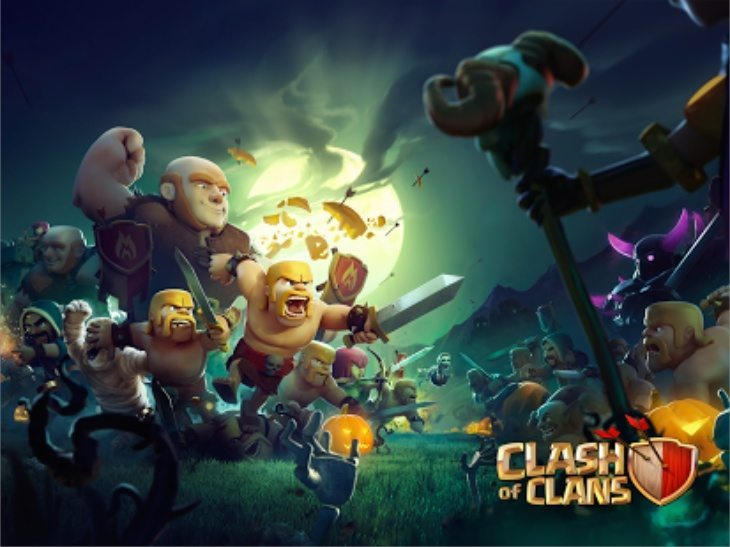 Actually Playing Video Games: Clash of Clans: Halloween 2014 Update