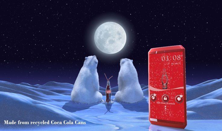 Coca Cola phone design c