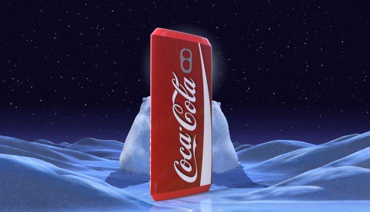 Coca Cola phone design