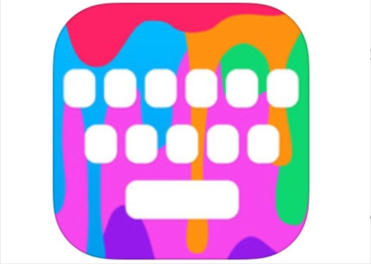 Color keyboard app
