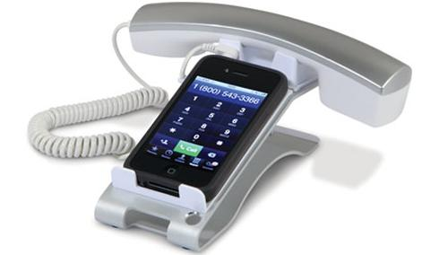 Cool iPhone Desktop phone & iPad Internet Chat Handset