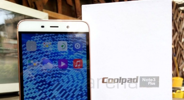 Coolpad Note 3 Plus price confirmed and availability date