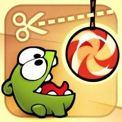 Cute the Rope update with 25 new steam box levels main pic