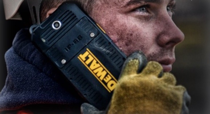 Dewalt MD501 price for new rugged smartphone