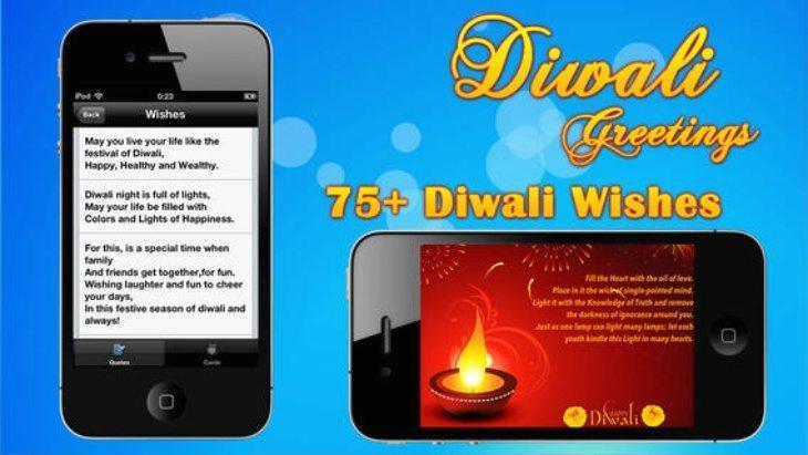 Diwali apps iPhone
