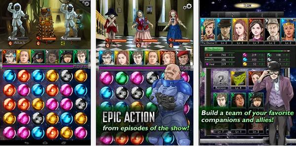 Doctor Who Legacy game helps celebrate 50 years