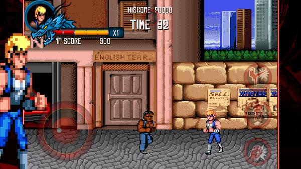 Double Dragon Trilogy iOS and Android in retro release
