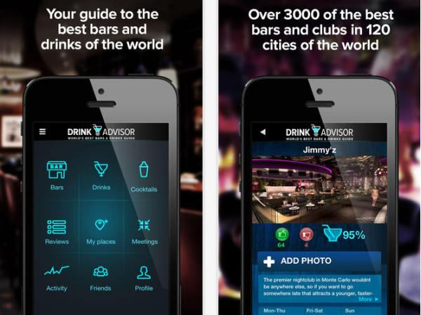 Drink Advisor app helps you find the best bar