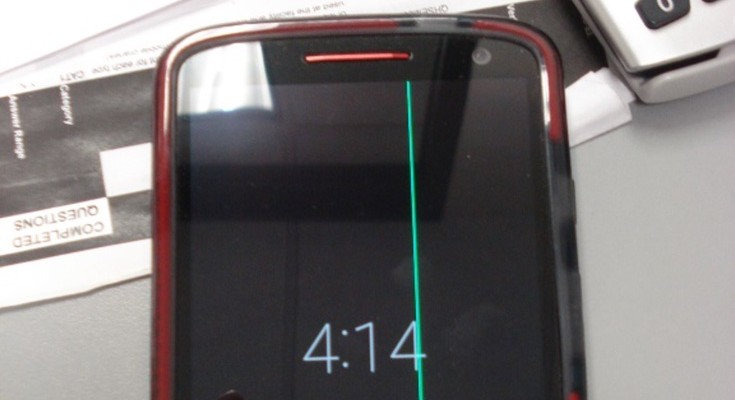 Droid Turbo 2 green line problem causes frustration