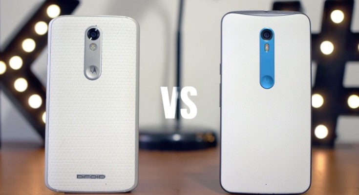 Droid Turbo 2:X Force vs Moto X Pure:Style