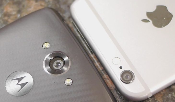 Droid Turbo vs iPhone 6 b