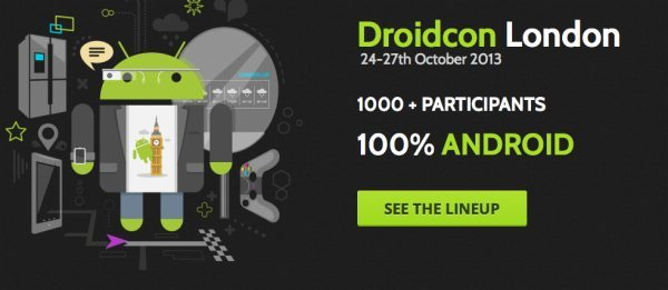Droidcon London 2013 Android fever countdown