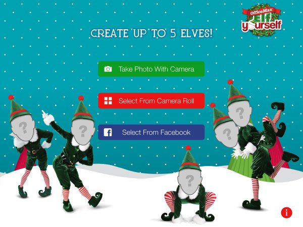 Elf Yourself Officemax app for Android released