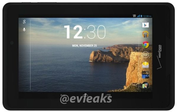 Ellipsis 7, 2013 instead of Verizon Nexus 7 LTE