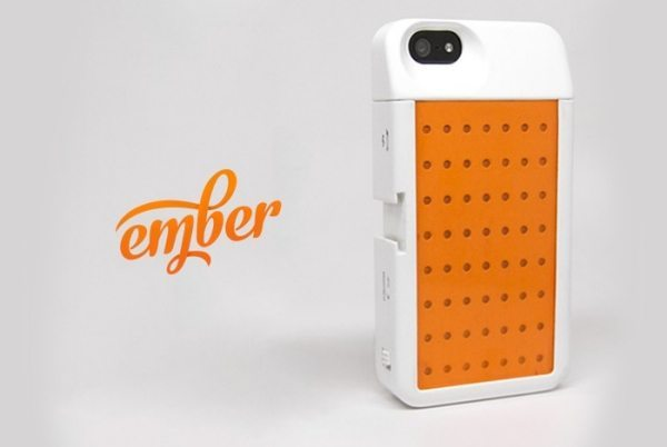 Ember iPhone case for night photography