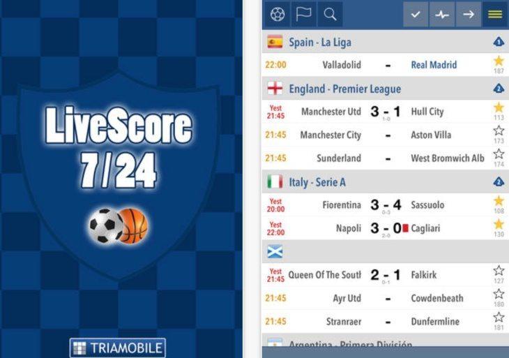 Fußball 24 Live Score