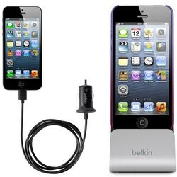 iPhone 5 Belkin Car Charger & Sync Dock for Lightning Connector