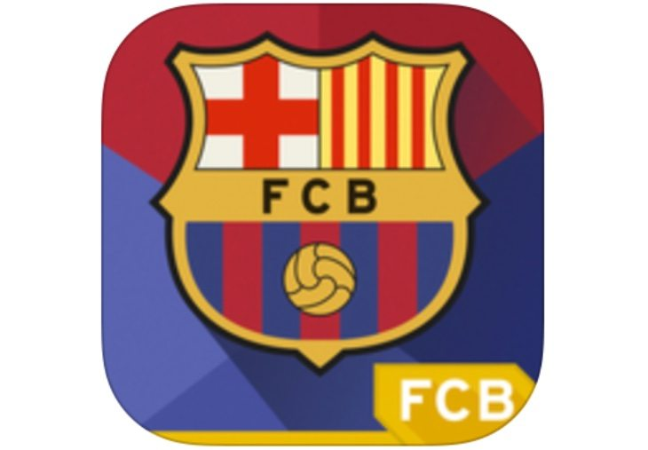 FC Barcelona app update before PSG Champions League match