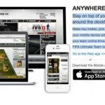 FIFA 13 Ultimate Team with EA SPORTS Football Club app