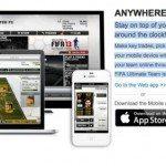 FIFA 13 Ultimate Team with EA SPORTS Football Club app