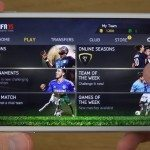 FIFA 15 review of gameplay on iPhone 6 Plus