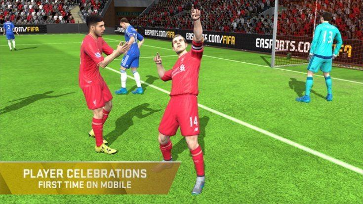 FIFA 16 Ultimate Team iOS app