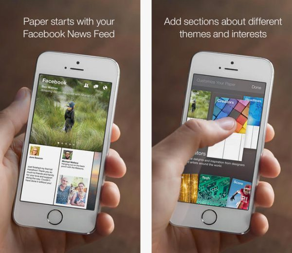 Facebook Paper app Android release, iOS download problems