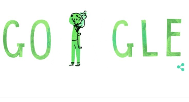 Father's Day Google Doodle has captivating charm