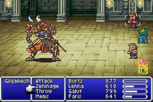 Final Fantasy V to release for Android & iOS