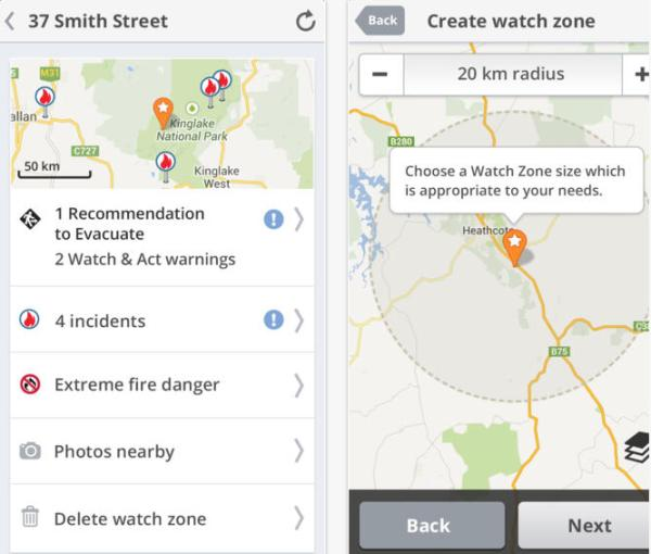 FireReady app contains CFA, MFB and DEPI warnings