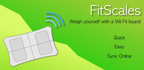 FitScales app for Android works with Wii Fit Board