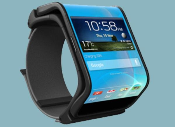 Flexible Android smartphone transforms into smart watch ...