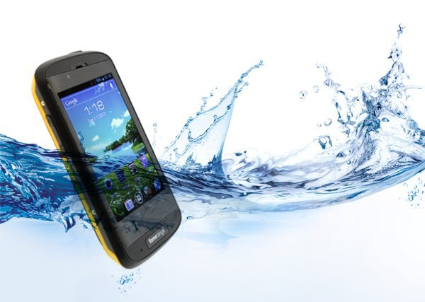 Fonerange Rugged Android 4.0 V8 shock, water and dustproof phone pic 2