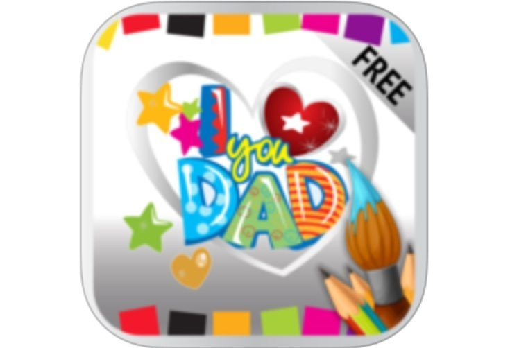 Free Fathers Day messages, quotes, cards apps, Android and iOS