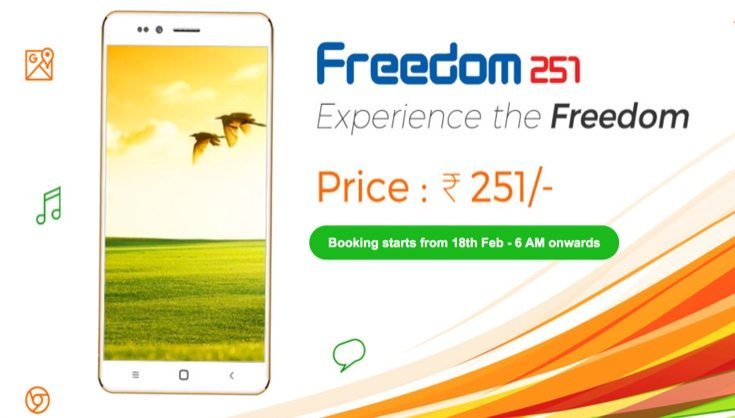 Freedom 251 booking