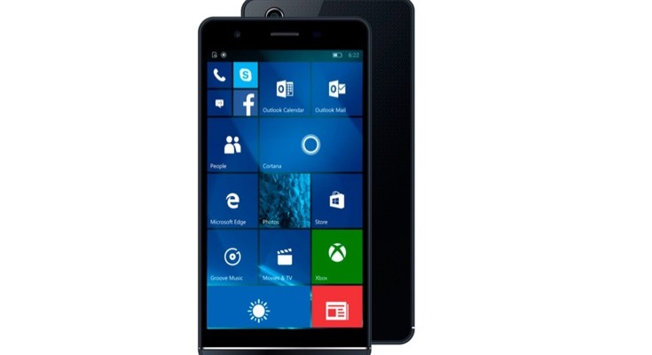 The Funker W5.5 Pro is a new Windows 10 phone