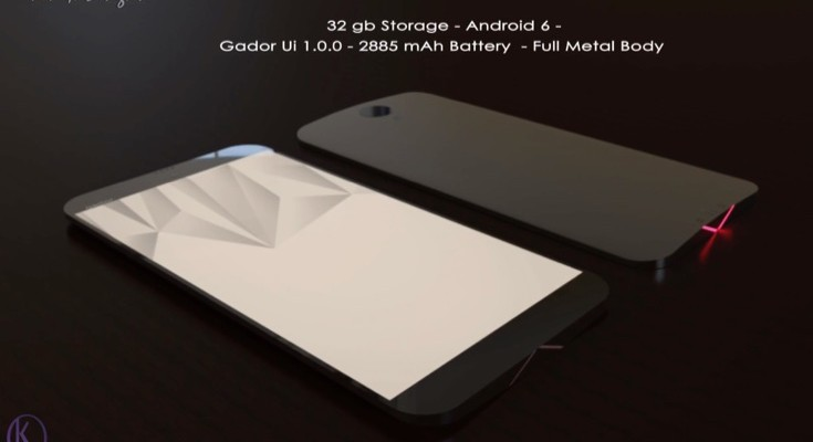 Gador X concept shows flagship smartphone and specs