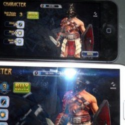Galaxy Note 2 vs iPhone 5 Review- Blood & Glory 2 Legend