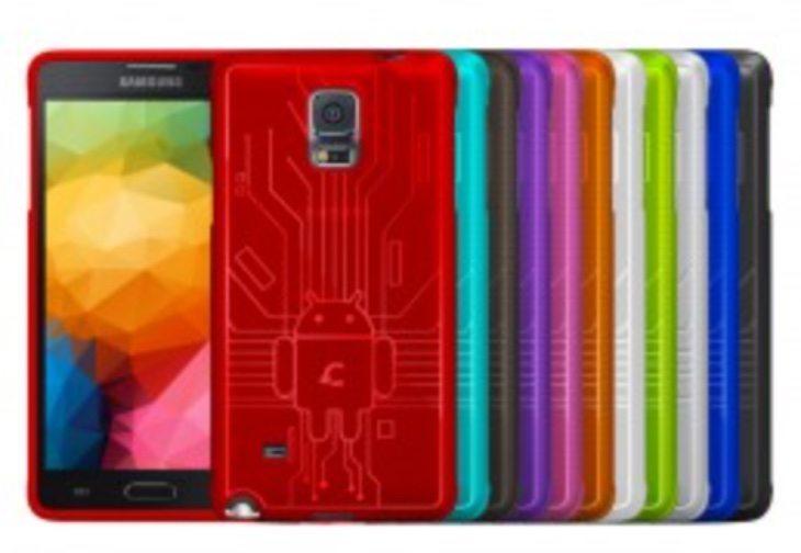Galaxy Note 4 Bugdroid Circuit case