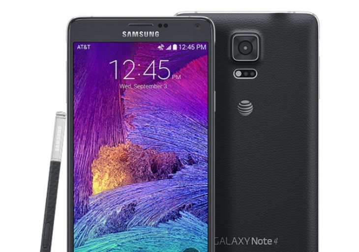 Galaxy Note 4 update
