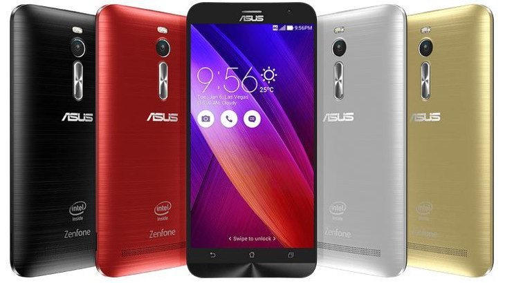Galaxy Note 4 vs Asus Zenfone 2 b