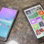 Galaxy Note 4 vs Lumia 1520