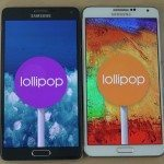 Galaxy Note 4 vs Note 3 Galaxy S5 Lollipop