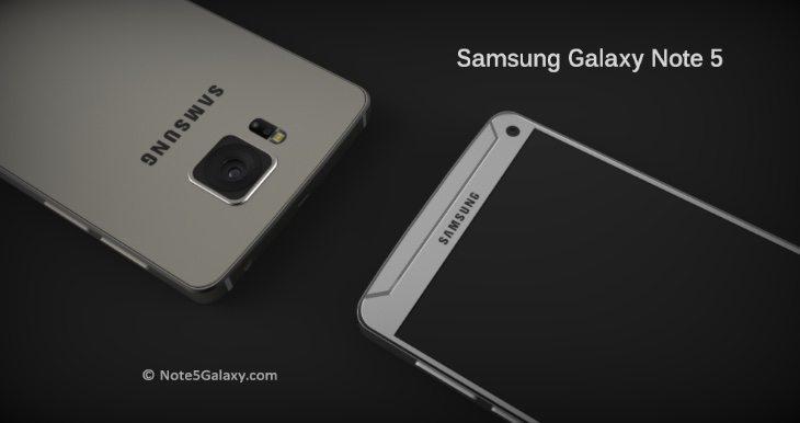 Galaxy Note 5 renders b