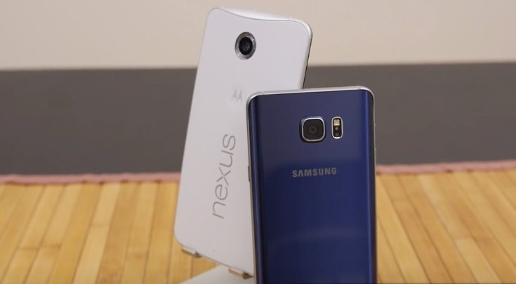 Galaxy Note 5 vs Nexus 6 b