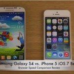 Galaxy S4 vs. iPhone 5 browser review on beta 2